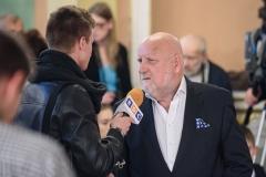 """Adam Myjak, laureat Nagrody """"Dzieło życia"""", 23 września 2019, Zamek Królewski w Warszawie, fot. Tomasz Urbanek/East News"""