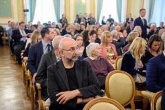 Gala Nagród im. Cypriana Kamila Norwida 2019,  23 września 2019, Zamek Królewski w Warszawie, fot. Tomasz Urbanek/East News