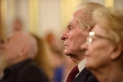 Wiesław Myśliwski, 23 września 2019, Zamek Królewski w Warszawie, fot. Tomasz Urbanek/East News