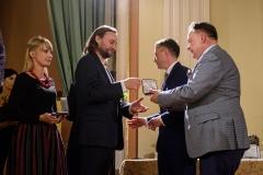 Nominowani w kategorii Muzyka: Leszek Lorent i Wioleta Fijałkowska, 23 września 2019, Zamek Królewski w Warszawie, fot. Tomasz Urbanek/East News