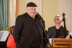 """Leon Tarasewicz nagrodzony za wystawę """"Jerozolima"""", 23 września 2019, Zamek Królewski w Warszawie, fot. Tomasz Urbanek/East News"""