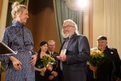 Nominowany w kategorii Sztuki plastyczne Franciszek Maśluszczak, 23 września 2019, Zamek Królewski w Warszawie, fot. Tomasz Urbanek/East News