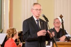 Lech Śliwonik - przewodniczący Kapituły Teatralnej, 23 września 2019, Zamek Królewski w Warszawie, fot. Tomasz Urbanek/East News