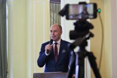 Konferencję poprowadził Andrzej Sułek /fot. Justyna Michniewicz/