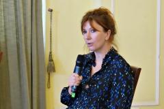 Anna Szyjkowska-Piotrowska - przewodnicząca kapituły Plastycznej /fot. Justyna Michniewicz/