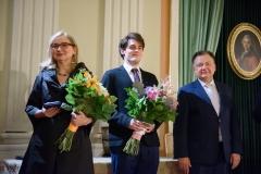 20. Od lewej: Lilianna Stawarz, Franciszek Pomianowski i Adam Struzik