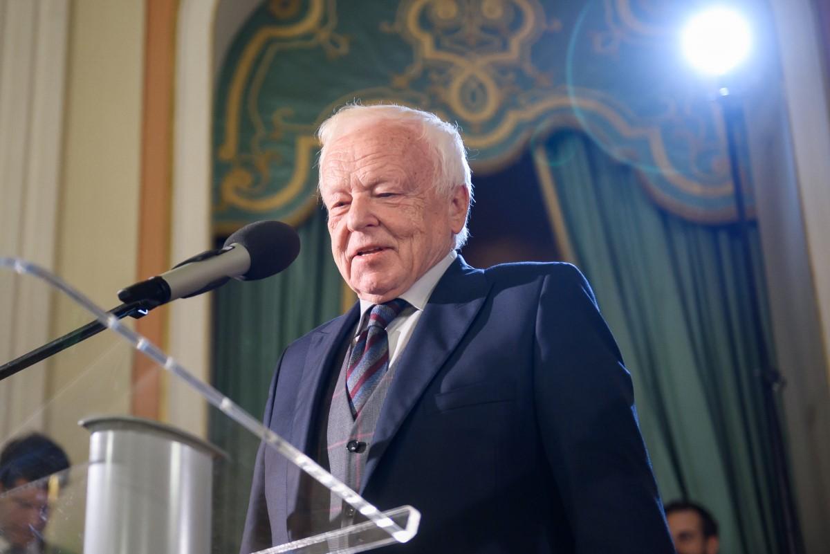 Laureat w kategorii Teatr 2018 Marian Opania
