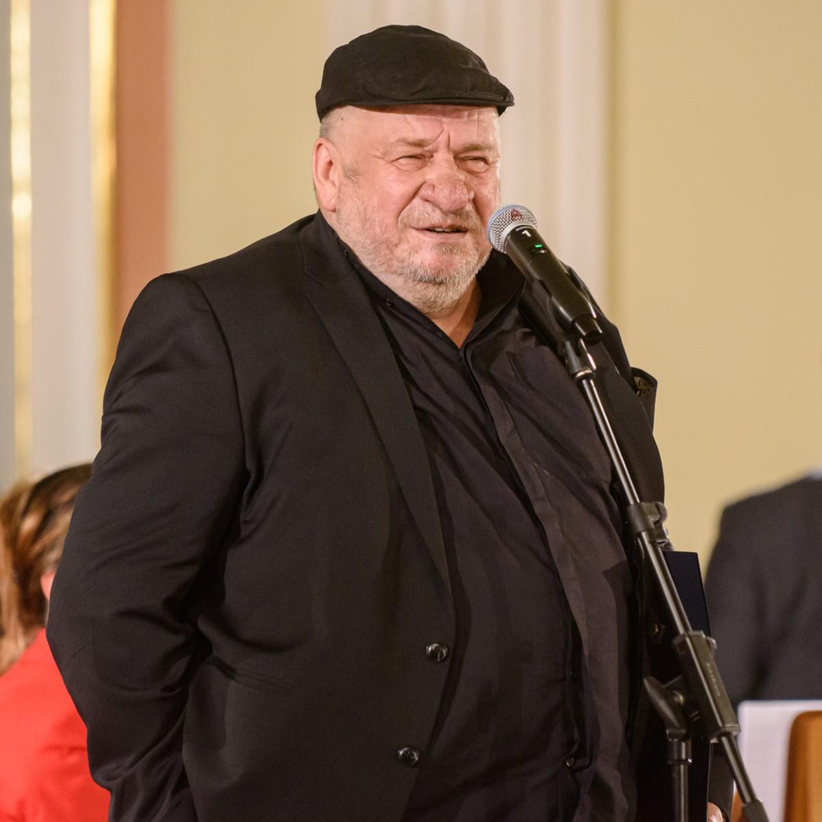 Leon Tarasewicz laureat sztuki plastyczne Norwid 2019