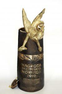 Statuetka nagrody norwida2 2008-2010