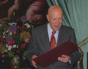 Laureat Nagrody Dzielo zycia 2008 Erwin Axer