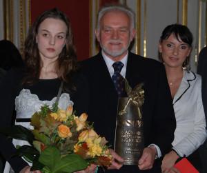 Kazimierz Świegocki laureat w kategorii literatura 2008