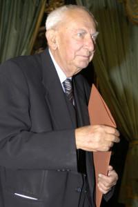 Gustaw Holoubek laureat w ktegorii teatr 2005