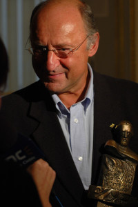 Piotr Fronczewski laureat w kategorii teatr 2007