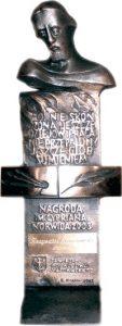 statuetka nagrody norwida 2003-2007