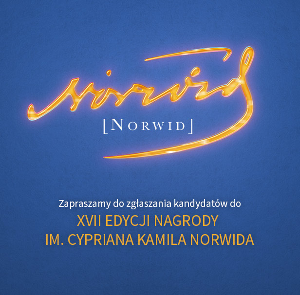 Nagroda im. Norwida 2018