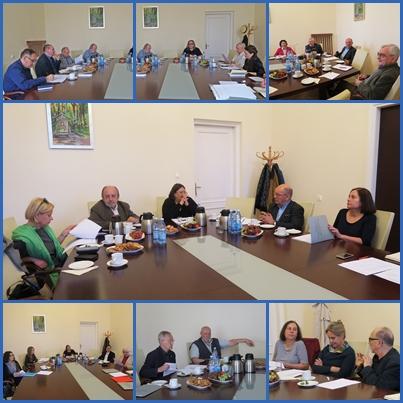 zdjęcia z posiedzeń kapituł Nagrody im. Norwida
