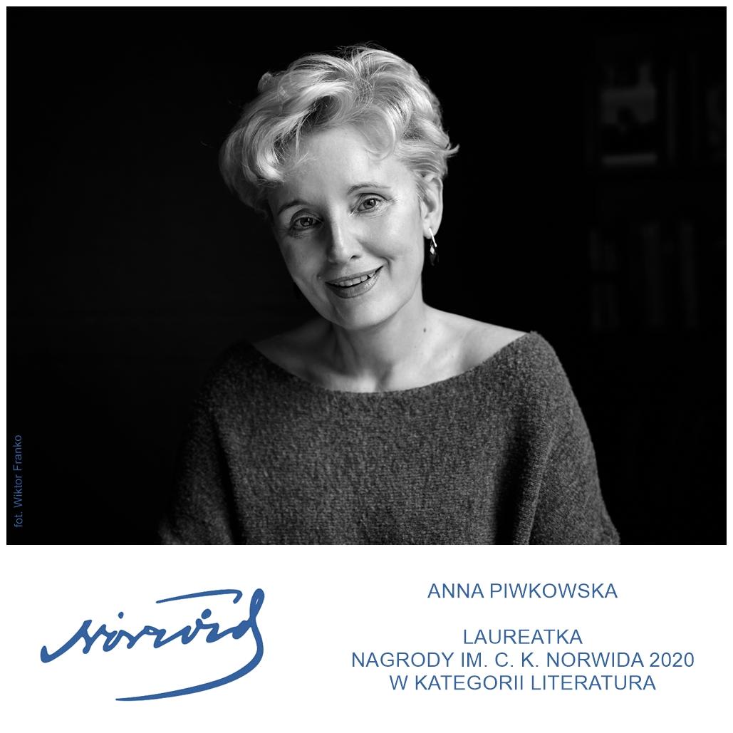 infografika ze zdjęciem laureatki Anny Piwkowskiej