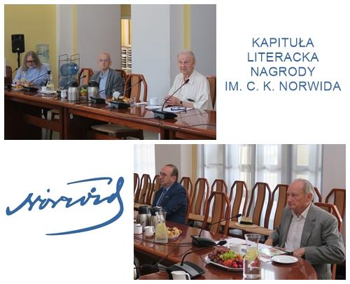 Kapituła Literacka Nagrody im Norwida 2020