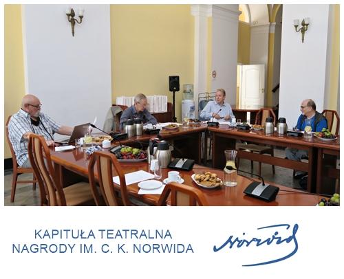 Kapituła Teatralna Nagrody im. norwida 2020