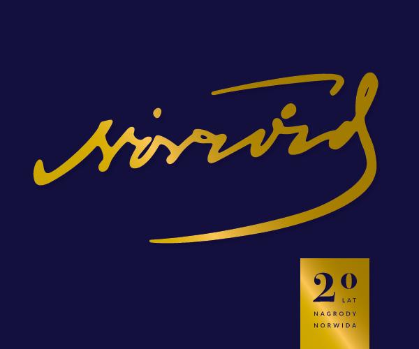 logotyp XX edycji Nagrody im. Norwida